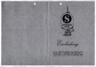 Einladung - senorita-club