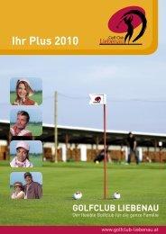 Ihr Plus 2010 - Golf Club Liebenau