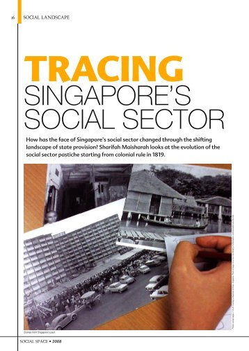 tracing singapore's social sector - Lien Centre for Social Innovation