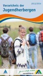 Verzeichnis der Jugendherbergen in Deutschland 2013/2014