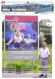 Danke - Gemeinde Kirchberg an der Raab