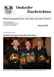 Februar 2012 - Osdorfer Nachrichten