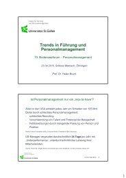 Trends in Führung und Personalmanagement - Bodensee-Forum ...