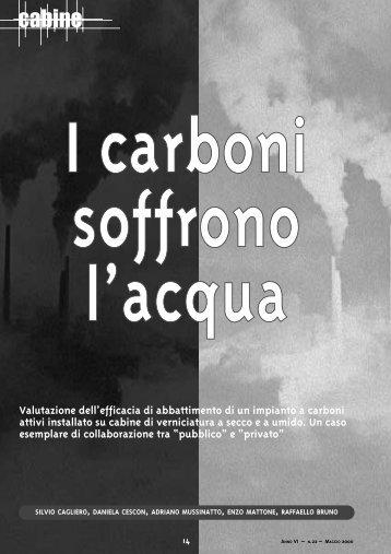 Carboni attivi su cabine di verniciatura a secco - Global Plant S.r.l.