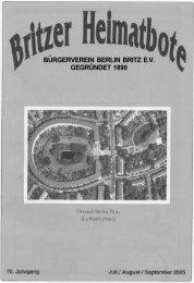 Berlin - Britzer Bürgerverein