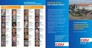 die zukunft in unserem neuen landkreis hat viele gesichter - CDU ...