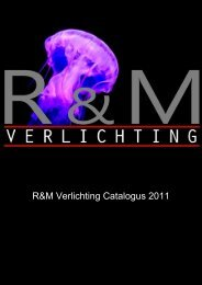 R&M Verlichting Catalogus 2011