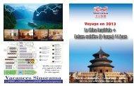 Voyage en 2013 - Sinorama Holidays