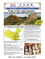 Sinorama Voyages S.A.R.L. - Sinorama Holidays