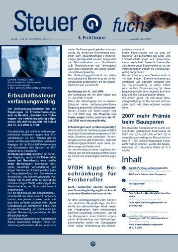 Befreiung vom Ar- beitslosenversiche- rungsbeitrag - Pirklbauer