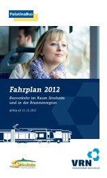 Fahrplan 2012 - VRN Verkehrsverbund Rhein-Neckar