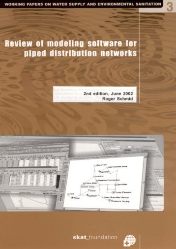 Review of modelling software for piped distribution networks - Skat