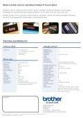 Smart, håndholdt labelmaskine Skab nemt orden på dit ... - Brother - Page 4