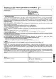 Vereinbarung Elektronischer Kontoauszug - Spar- und Kreditbank ...
