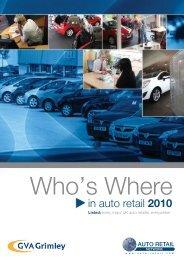 Who's Where - Auto Retail Network