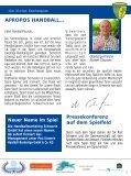 """Täglich für Sie """"am Ball"""" - SV Post Schwerin - Handball-Bundesliga - Page 3"""