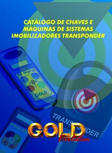 catálogo de chaves e máquinas de sistemas ... - Chaves Gold