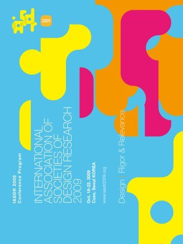 international association of societies of design research ... - iasdr 2009
