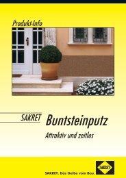 Produkt-Info BSP.indd - SAKRET GmbH