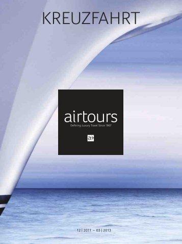 """Katalog """"airtours Kreuzfahrt Dez. 2011 bis März 2013 - TUI.at"""