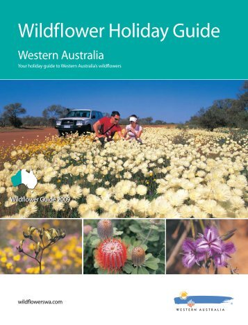 Wildflower Holiday Guide - Western Australia