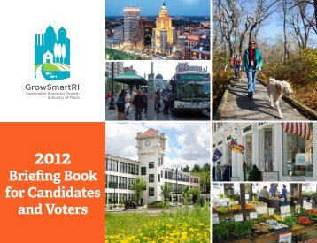 Briefing Book for Candidates and Voters - Grow Smart Rhode Island
