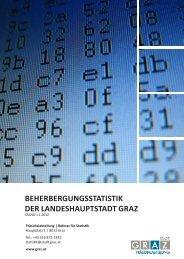BEHERBERGUNGSSTATISTIK DER LANDESHAUPTSTADT GRAZ