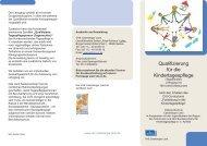 Qualifizierung zur Tagesmutter - VHS Calenberger Land