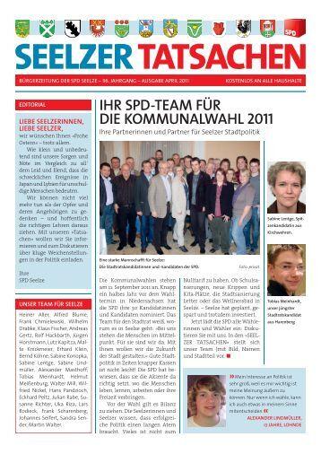 SEELZER TATSACHEN | April 2011 - SPD-Ortsverein Seelze