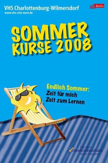 VHS Charlottenburg-Wilmersdorf - Volkshochschule City West