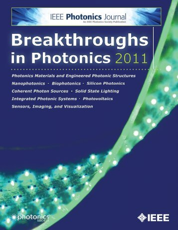 Breakthroughs in Photonics 2011 - Photonics Journal
