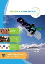 GJUnterhaching 11_2010.pdf (2,9 MB) - Gemeinde Unterhaching