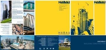 """Folder """"Hochbau"""" - HABAU Hoch"""