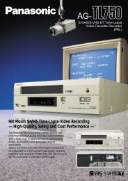 960 Hours S-VHS Time-Lapse Video Recording -