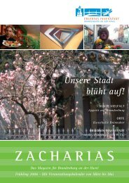 ZACHARIAS - Brandenburg an der Havel