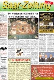 Frohe Weihnachten - Saar-Zeitung
