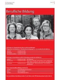 VHS-Programm 1-2013: Berufliche Bildung - Stadt Köln