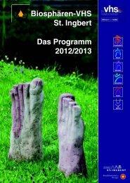 vhs-Programm 2012_1-8 - Stadt St. Ingbert