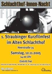 1. Straubinger Kurzfilmfest.pdf - JFF
