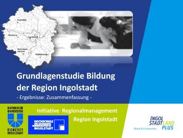 Grundlagenstudie Bildung - Initiative Regionalmanagement Region ...