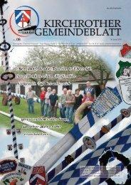 Nr. 08 (Juni 2010 - 44 Seiten) - Gemeinde Kirchroth