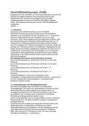 Geschäftsbedingungen (AGB) - Gemeinde Swisttal