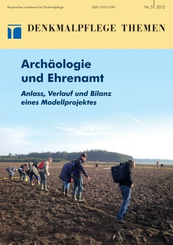 Archäologie und Ehrenamt - Bayerisches Landesamt für ...