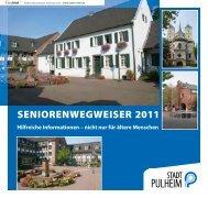 SENIORENWEGWEISER 2011 - Stadt Pulheim