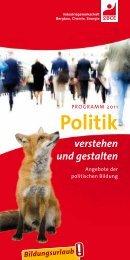Politik verstehen und gestalten - IG BCE - NORD
