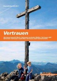 Vertrauen ist messbar - VR Bank Starnberg-Herrsching-Landsberg eG