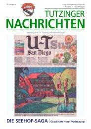 Download Heft 10 / Oktober 2012 - Tutzinger Nachrichten