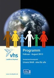 Anmeldung - VHS des Landkreises Diepholz