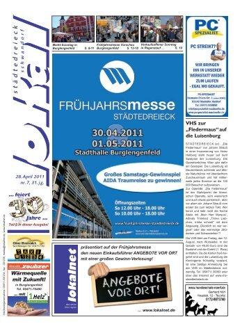 Wifo Verkaufsoffener St.-Georg-Jahrmarkt Sonntag, 1. Mai ... - lokalnet