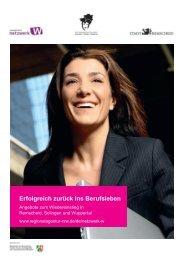 Erfolgreich zurück ins Berufsleben - Netzwerk Starthilfe Remscheid